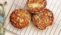 Zucchini Fritters (Grain/Dairy/Sugar-Free, Paleo) - GrokGrub.com