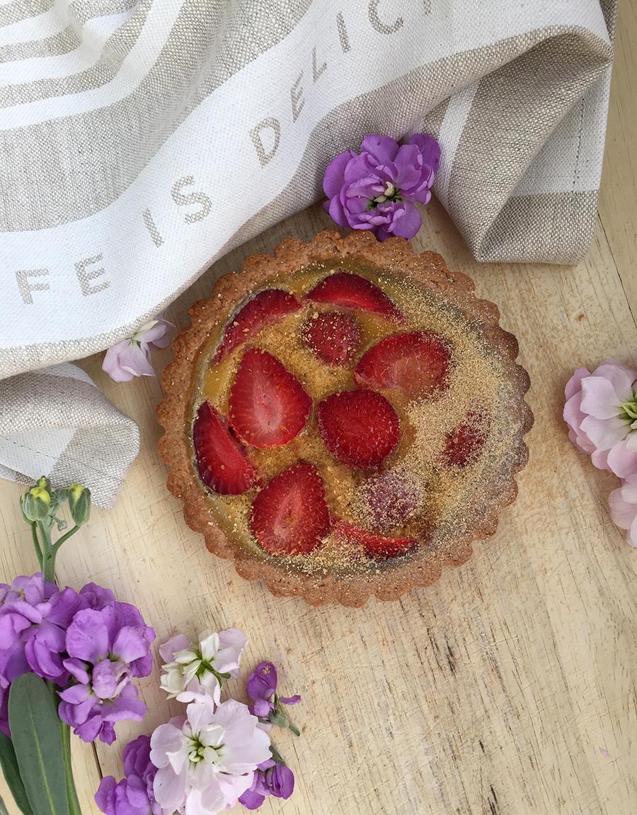 Strawberry Tartlet (grain free, dairy free, gluten free) | Fresh Planet Flavor
