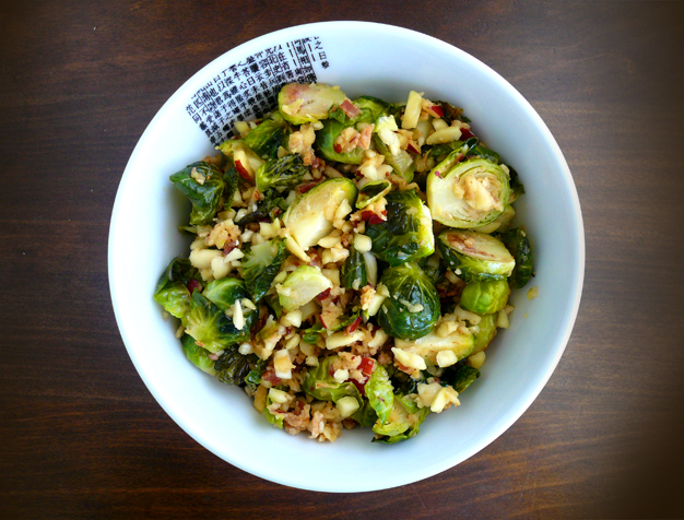 Maple Bacon Brussels Sprouts - GrokGrub