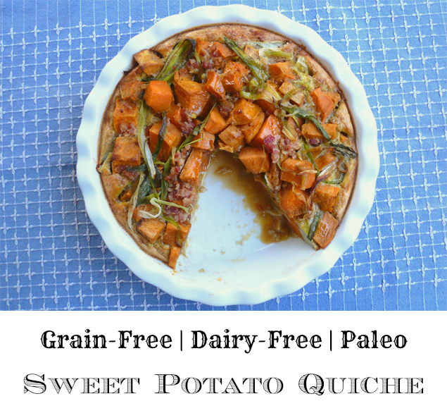 Sweet Potato Quiche - GrokGrub.com