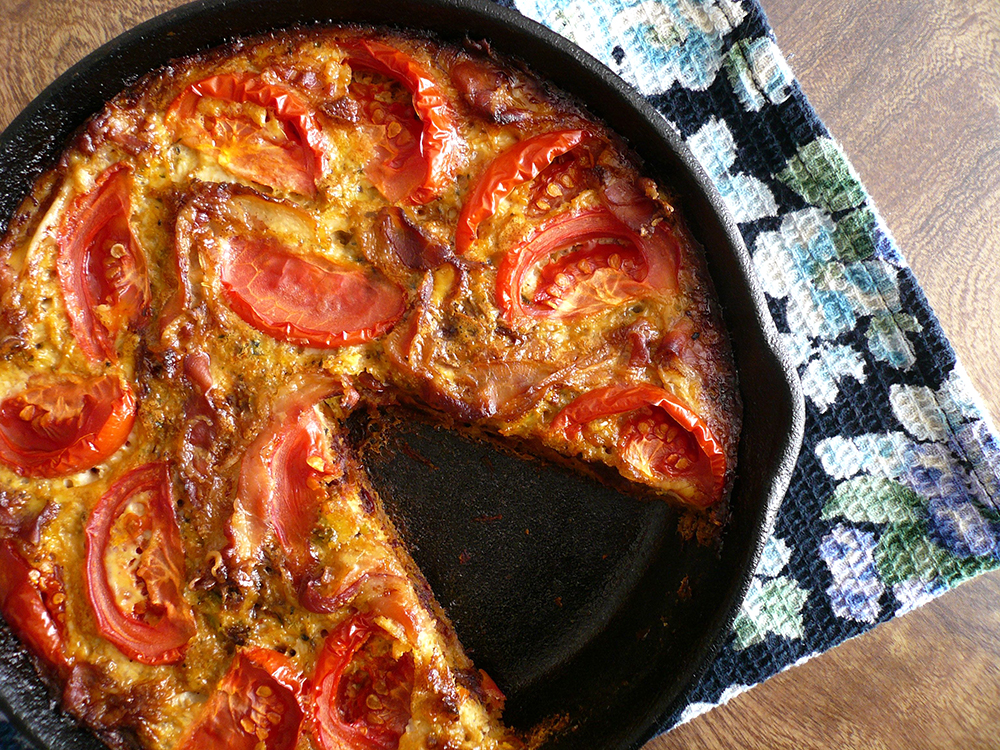 Sun Dried Tomato Quiche