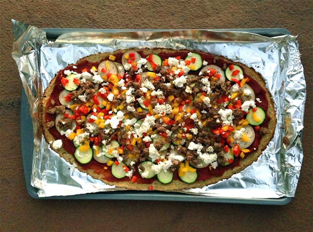 Ras el Hanout Pizza - GrokGrub