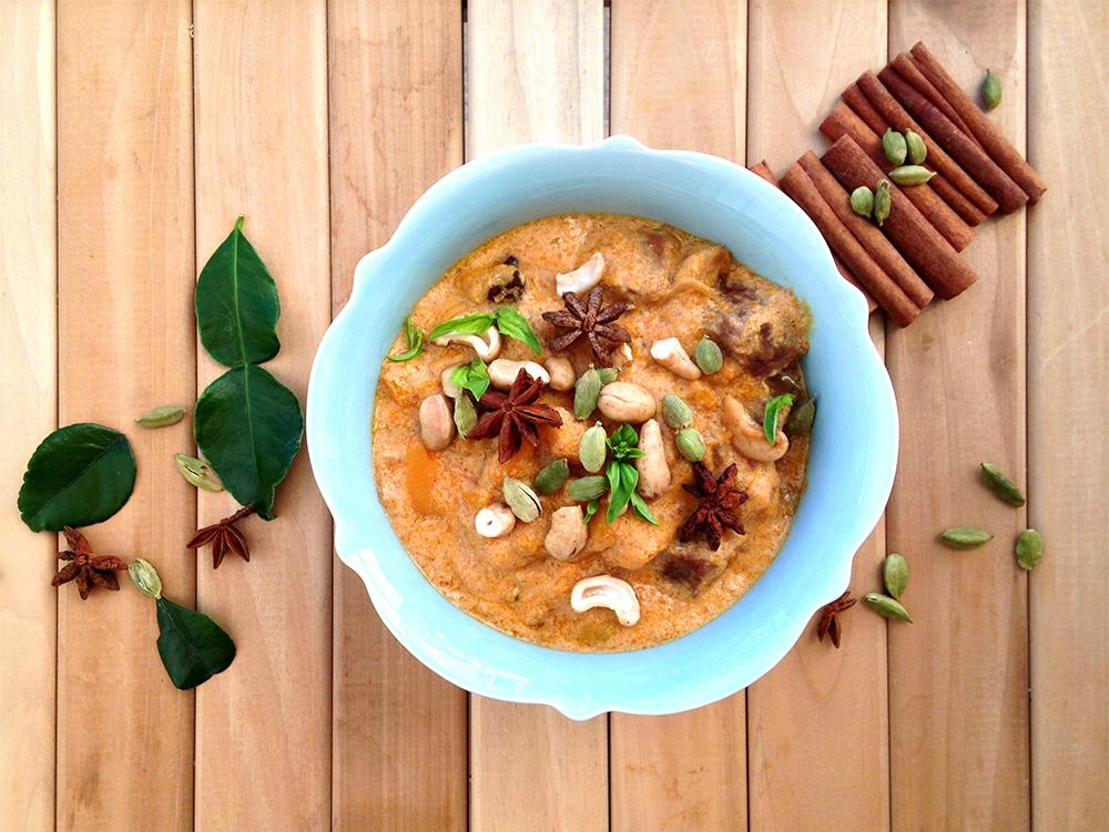 Beef Massaman Curry (grain/dairy/sugar free, paleo) | GrokGrub.com