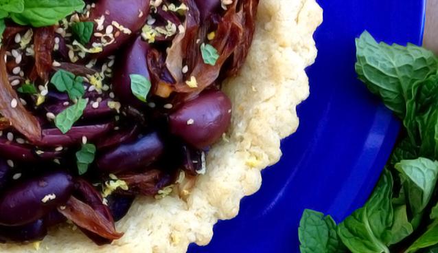 Greek Olive Pie - GrokGrub.com