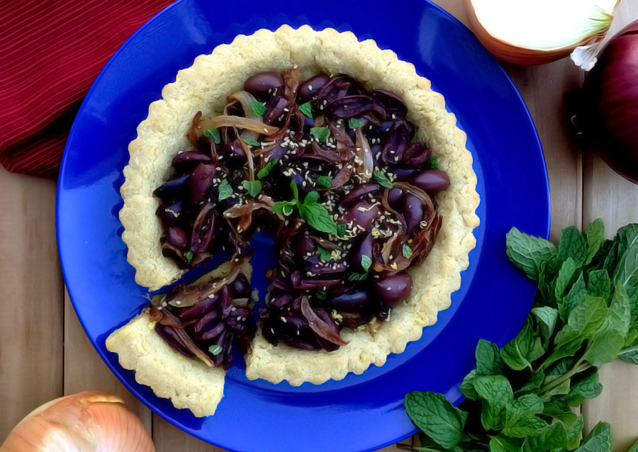 Greek Olive Pie - GrokGrub.com