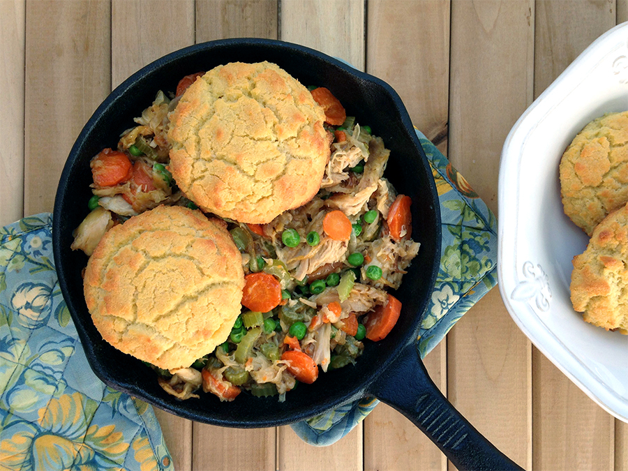 Paleo Chicken and Biscuits - Fresh Planet Flavor