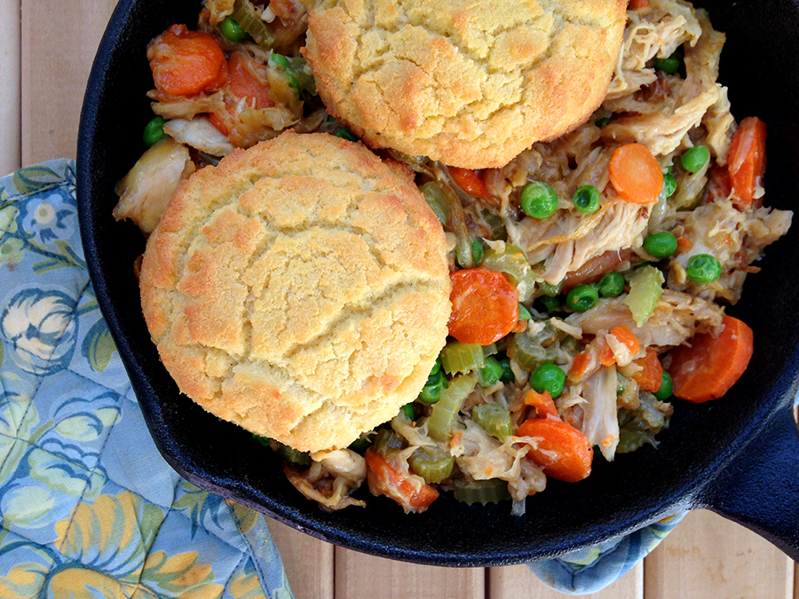 Paleo Chicken and Biscuits - Grok Grub