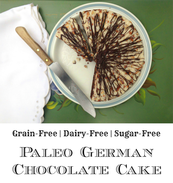 Paleo German Chocolate Cake - GrokGrub.com