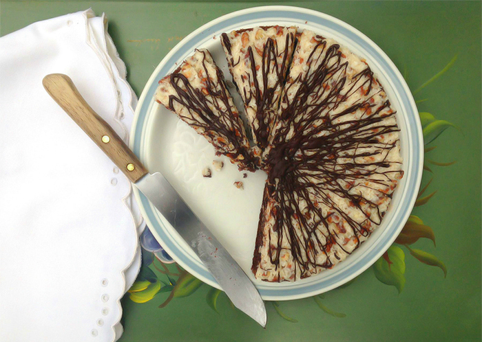 Paleo German chocolate cake (grain free, dairy free, refined sugar free) | Fresh Planet Flavor