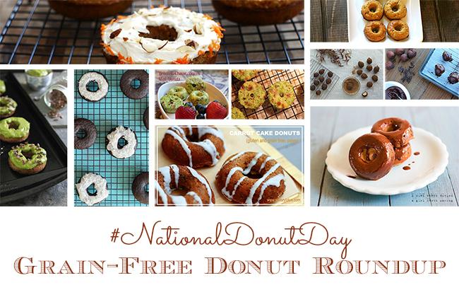 Grain-Free, Paleo #NationalDonutDay Roundup | GrokGrub.com
