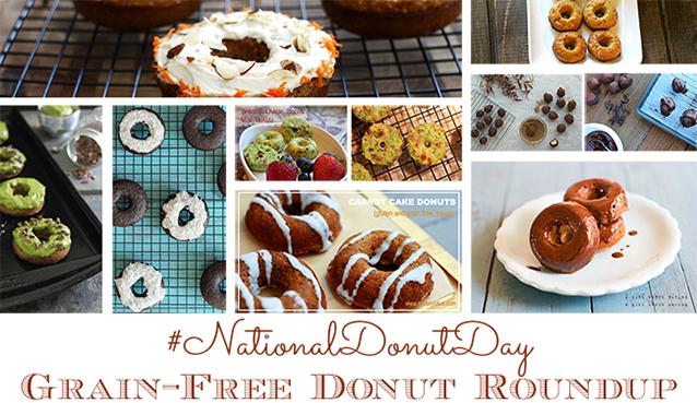Grain-Free, Paleo #NationalDonutDay Donut Roundup | GrokGrub.com