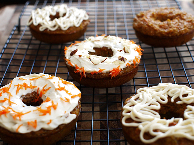 Grain-Free, Paleo Carrot Cake Fauxnuts by South Beach Primal (#NationalDonutDay Roundup) | GrokGrub.com