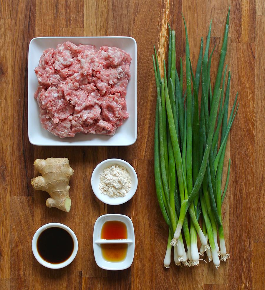Ginger Scallion Pork Meatballs by Zenbelly | GrokGrub.com