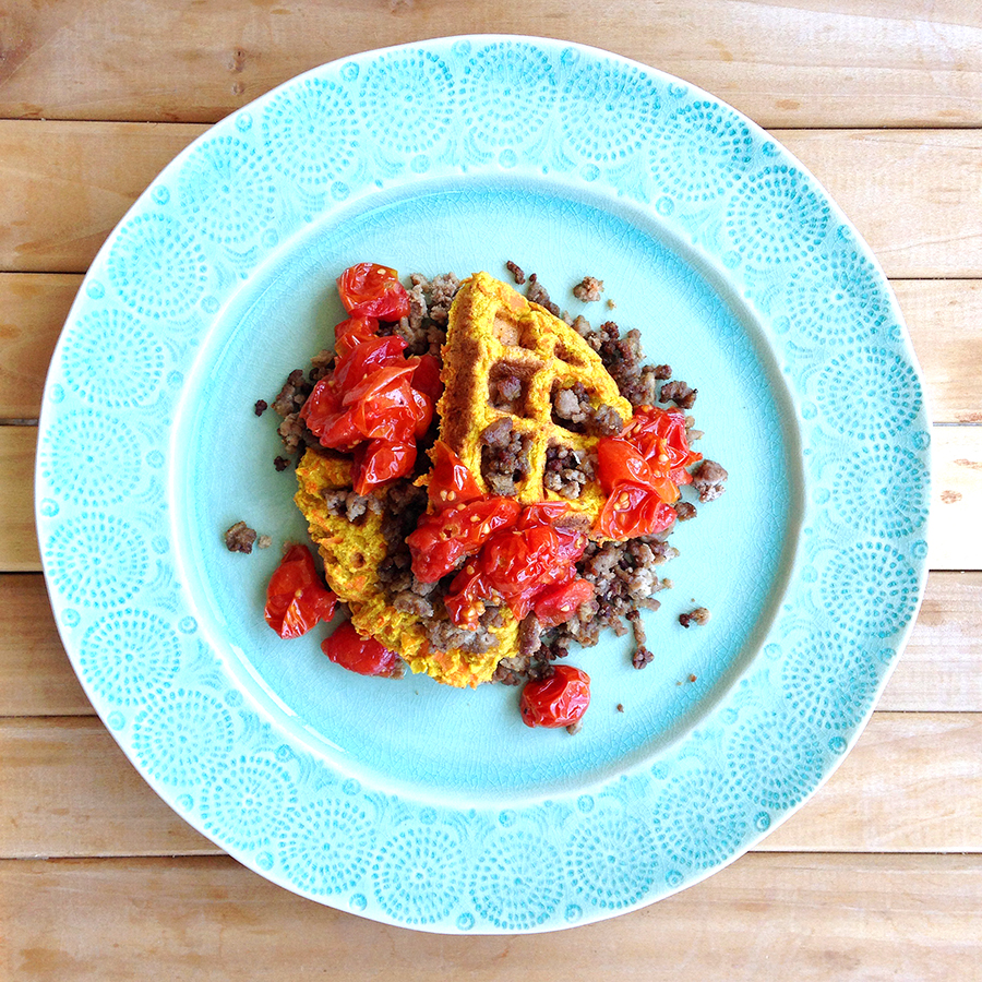 Curried Carrot Fritter Stack (Grain/Dairy-free, Paleo) | Fresh Planet Flavor