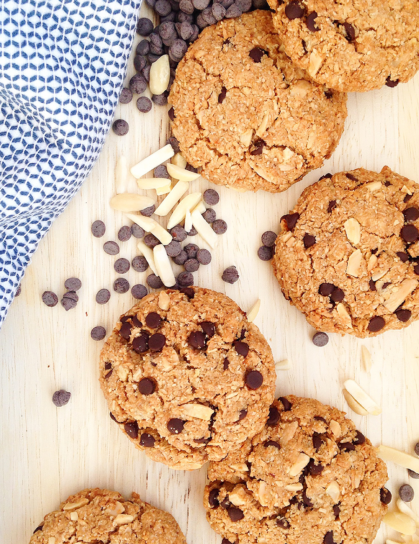 Gluten Free Chocolate Chip Cookies (vegan, paleo) | Fresh Planet Flavor