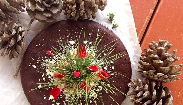 Chocolate Gingerbread Cake (nut-free, dairy-free, gluten-free) | GrokGrub.com