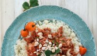Slow Cooker African Cashew Stew (grain/dairy/sugar free, paleo) | GrokGrub.com