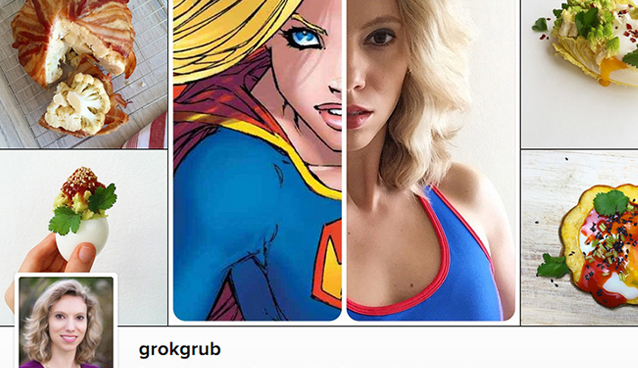 Instagram Recipes by Grok Grub (mini recipes delivered straight into your Instagram feed) | GrokGrub.com