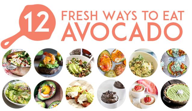 12 Fresh Avocado Recipes   GrokGrub.com