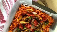 Easy Sweet Potato Sausage Layers (grain-free, gluten-free, paleo) | GrokGrub.com