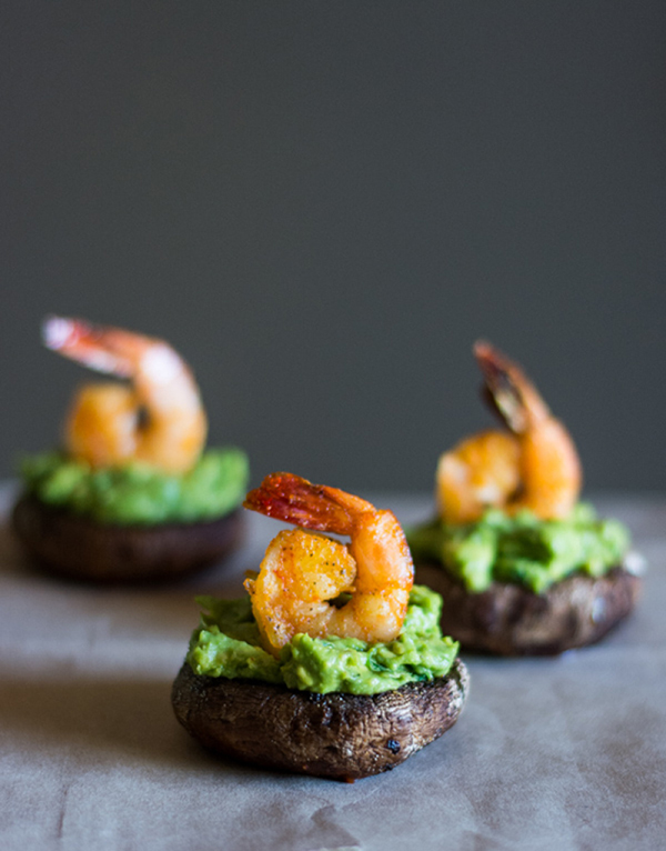 Shrimp and Avocado Stuffed Mushrooms - 12 Fresh Avocado Recipes ...