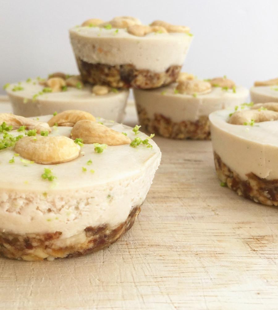 "Mini Key Lime Pie ""Cheesecakes "" (dairy free, raw, vegan, paleo) | Fresh Planet Flavor"