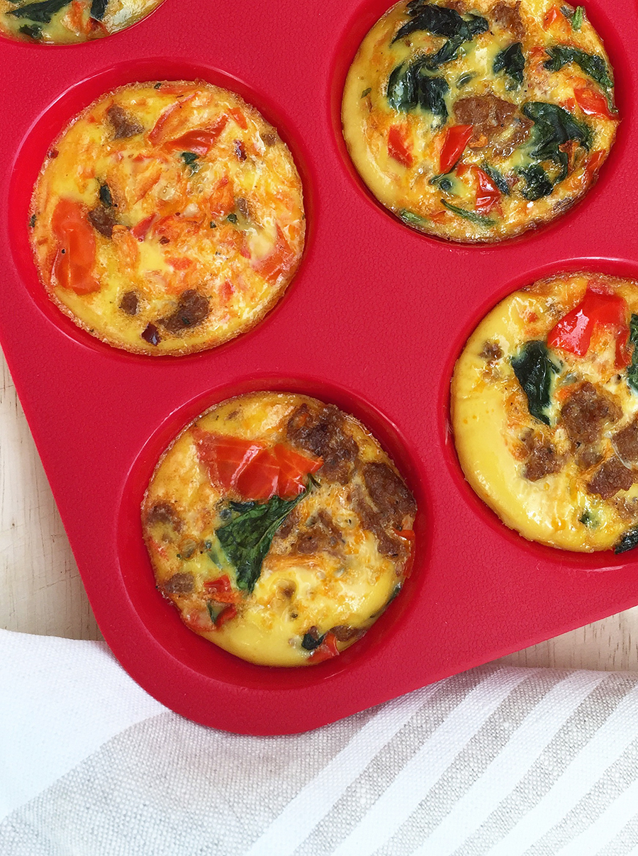 Mini Quiche: tiny, healthy, portable snack or breakfast option (dairy free, gluten free, paleo) | Fresh Planet Flavor