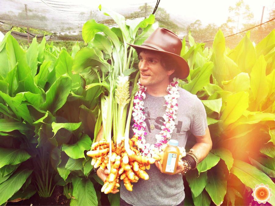 Temple Turmeric founder Daniel Sullivan   Fresh Planet Flavor