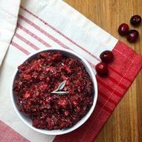 Mealmade's Spicy Cranberry Salsa (paleo, vegan, raw) | GrokGrub.com