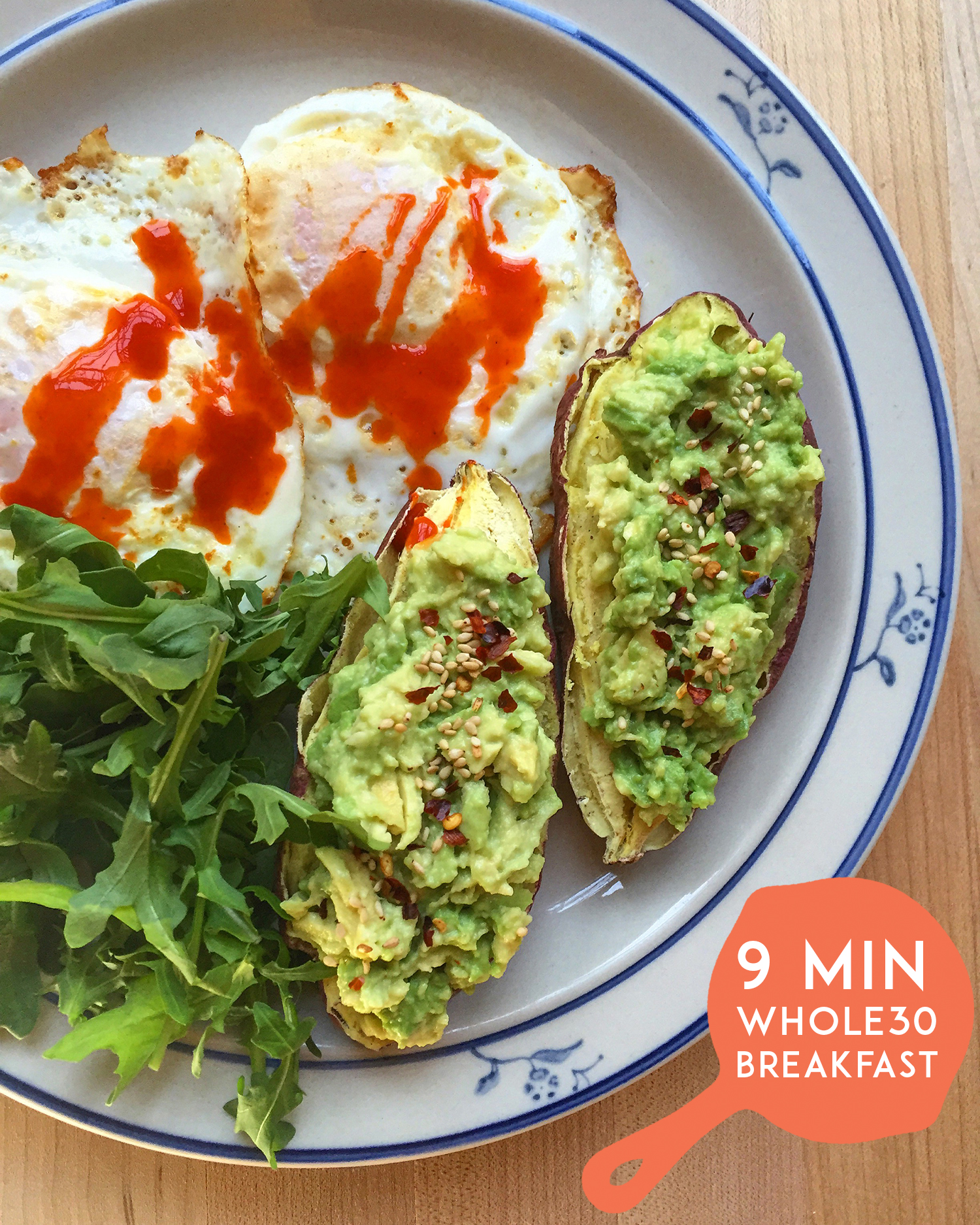 9 Minute Whole30 Breakfast from Real Talk Whole30 Survival Guides | GrokGrub.com