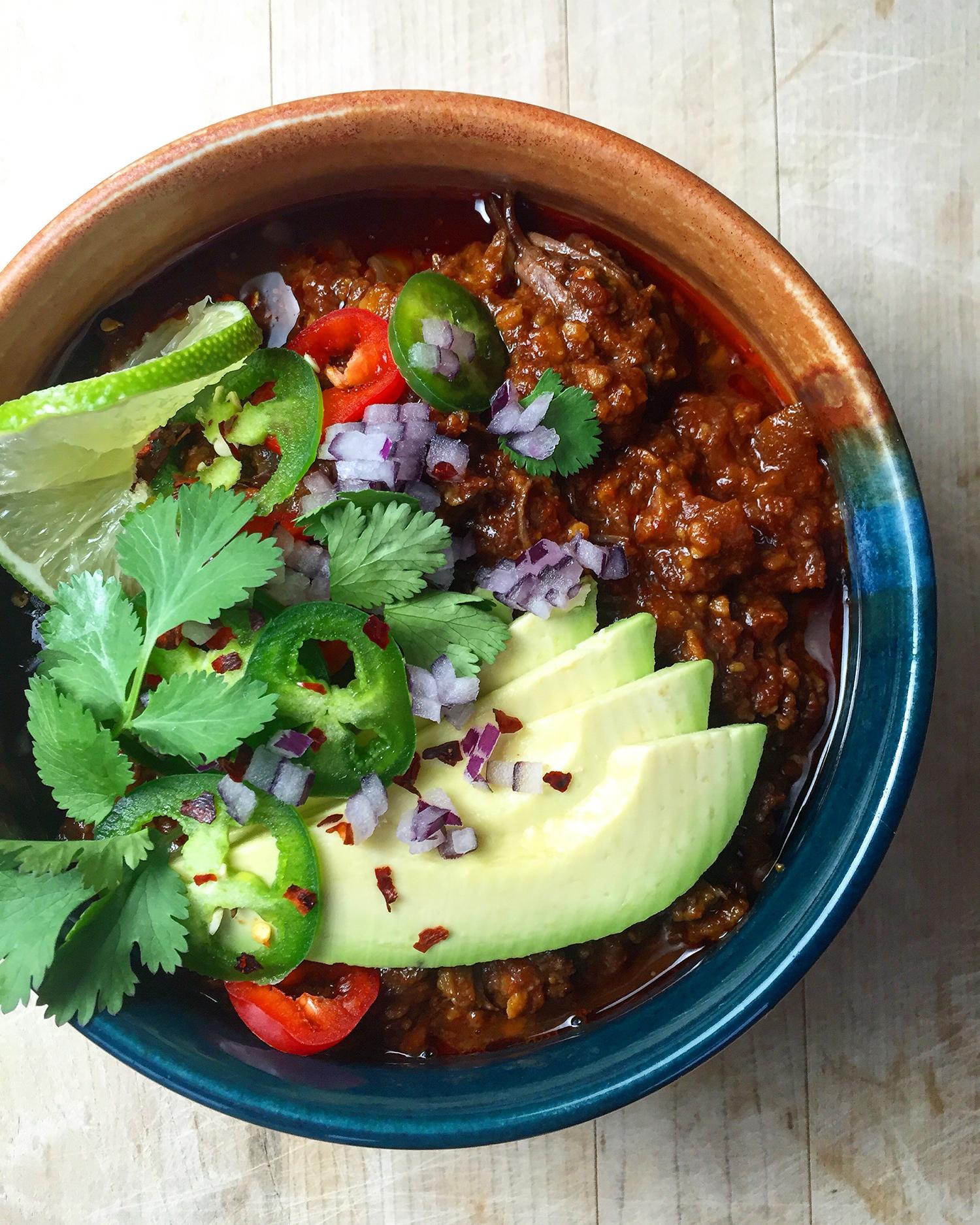 Short Rib Chili (paleo) | Fresh Planet Flavor