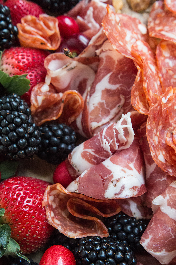 Meet Your New Skill: Crafting a Seasonal Charcuterie Board. Springtime fruit and vegetables pair deliciously with locally-produced charcuterie and simple homemade nut crackers for a simple yet lavish spread. Click to read more tips on Fresh Planet Flavor