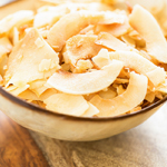 Caramelized Coconut Chips: 75 Healthy Kid-Friendly Snacks (allergy-friendly for every occasion) | GrokGrub.com