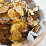 Curried Zucchini Chips: 75 Healthy Kid-Friendly Snacks (allergy-friendly for every occasion) | GrokGrub.com