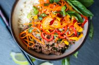 30 Minute Thai Beef with Basil (with Carbon-Farmed Beef)   Fresh Planet Flavor