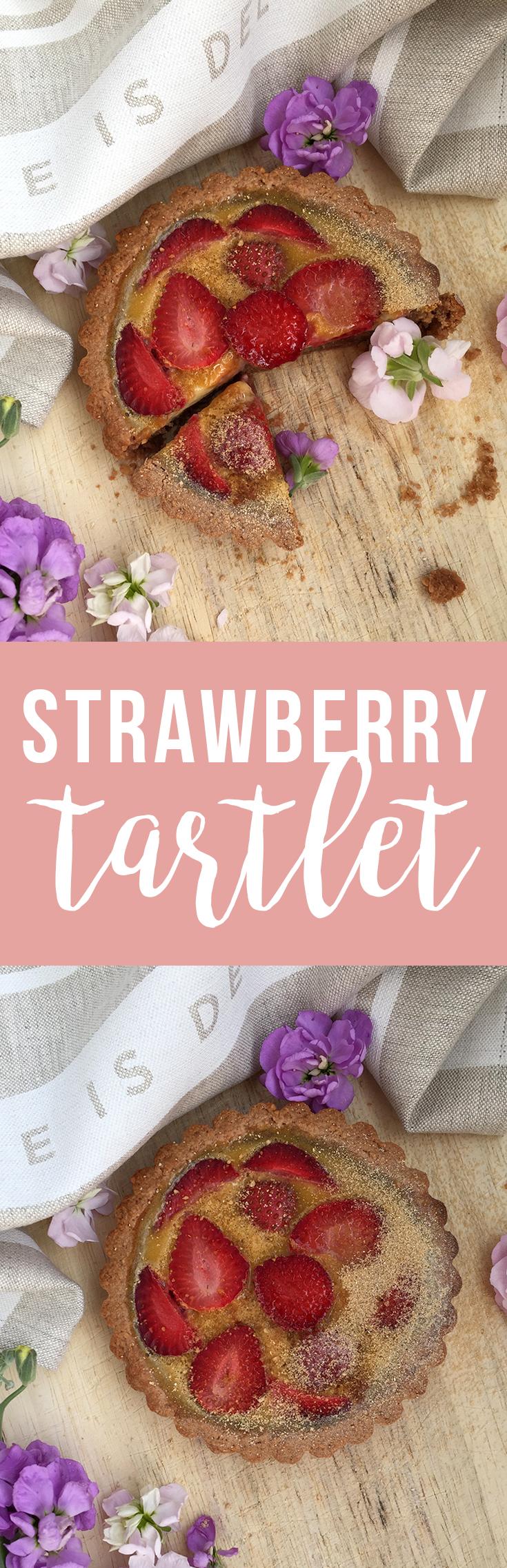 Strawberry Tartlet (grain/gluten free, dairy free) | Fresh Planet Flavor