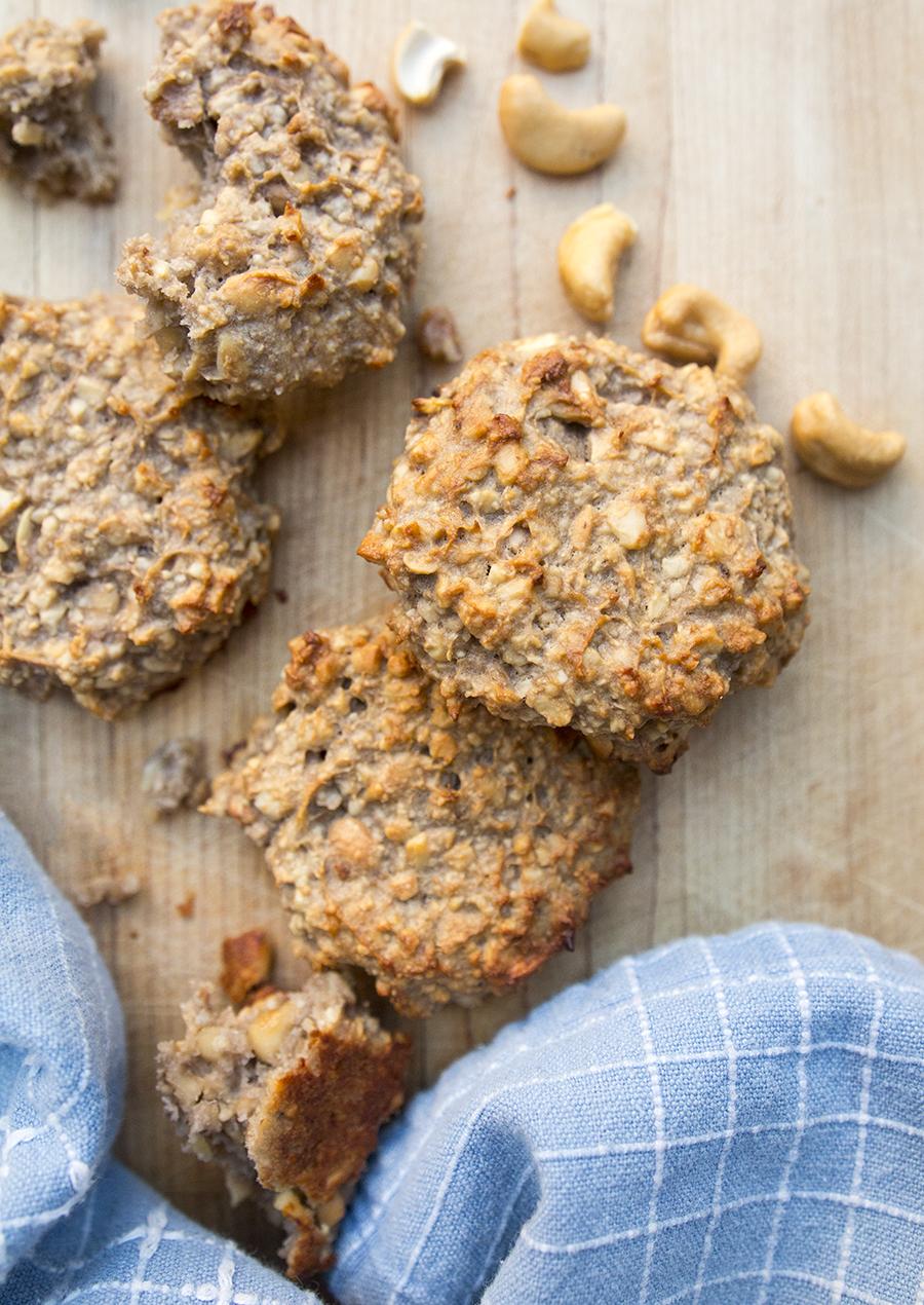2 Ingredient Banana Nut Cookies | Fresh Planet Flavor