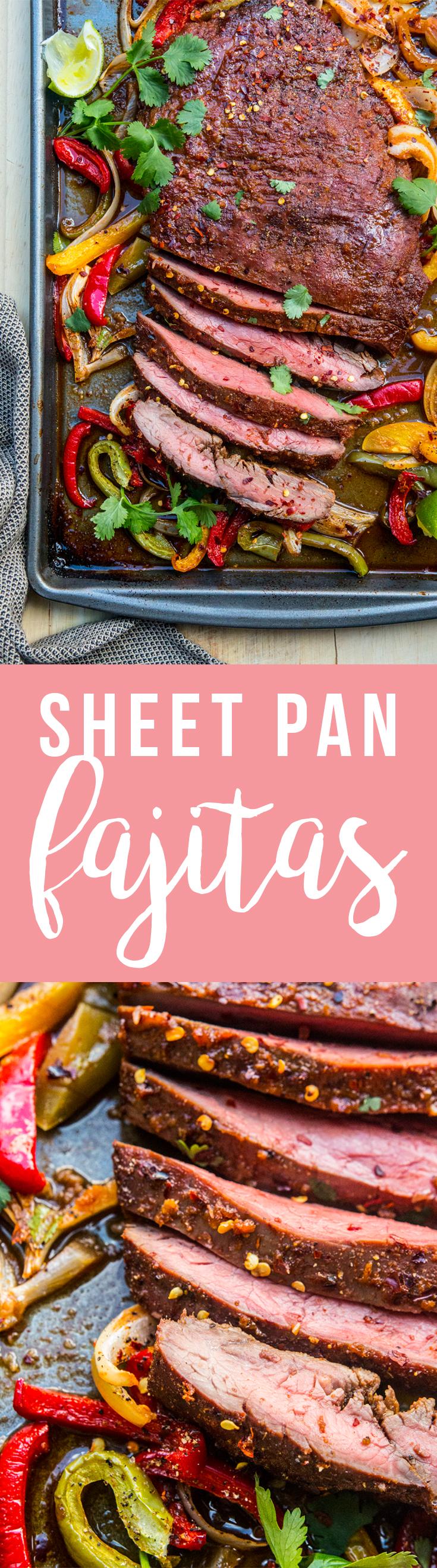 Sheet Pan Fajitas: easy, tasty, one-pan meal! | Fresh Planet Flavor