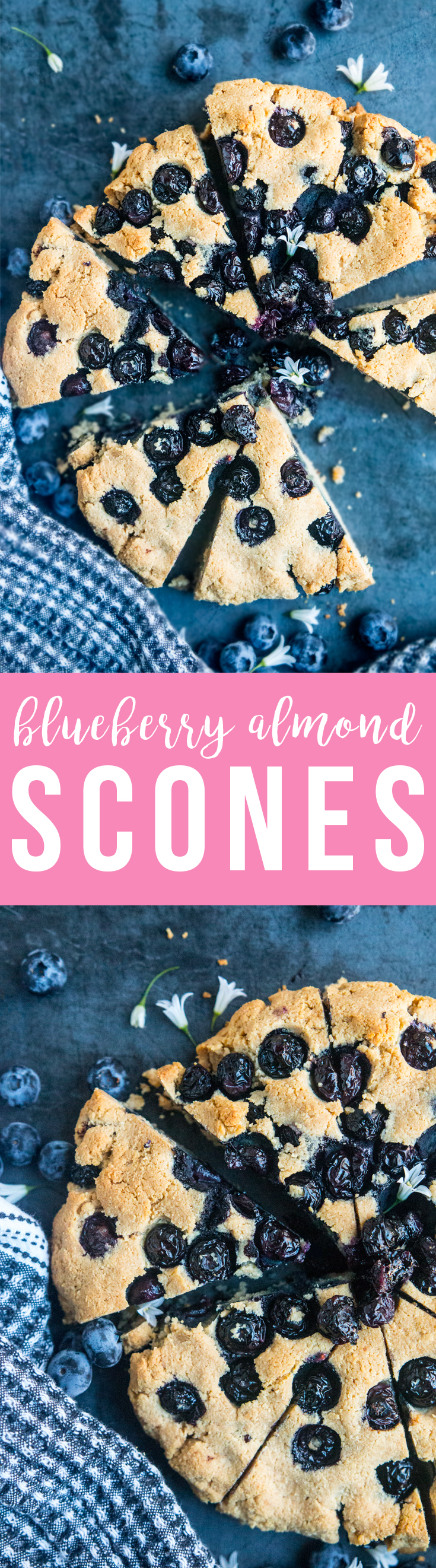 How to snack like a low-carb pro? Meet these Blueberry Almond Scones, made with nuts and eggs, plus the best-tasting ghee and stevia!