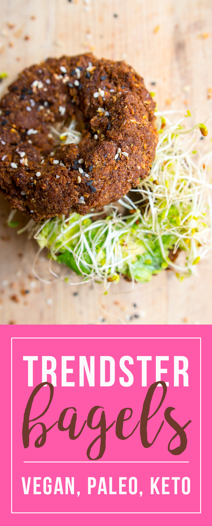 Trendster Bagels: vegan, paleo, and keto... enjoy! ☺️