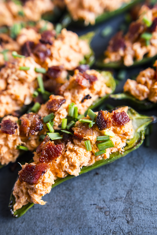 Buffalo Chicken Jalapeño Poppers (keto, paleo) | Fresh Planet Flavor