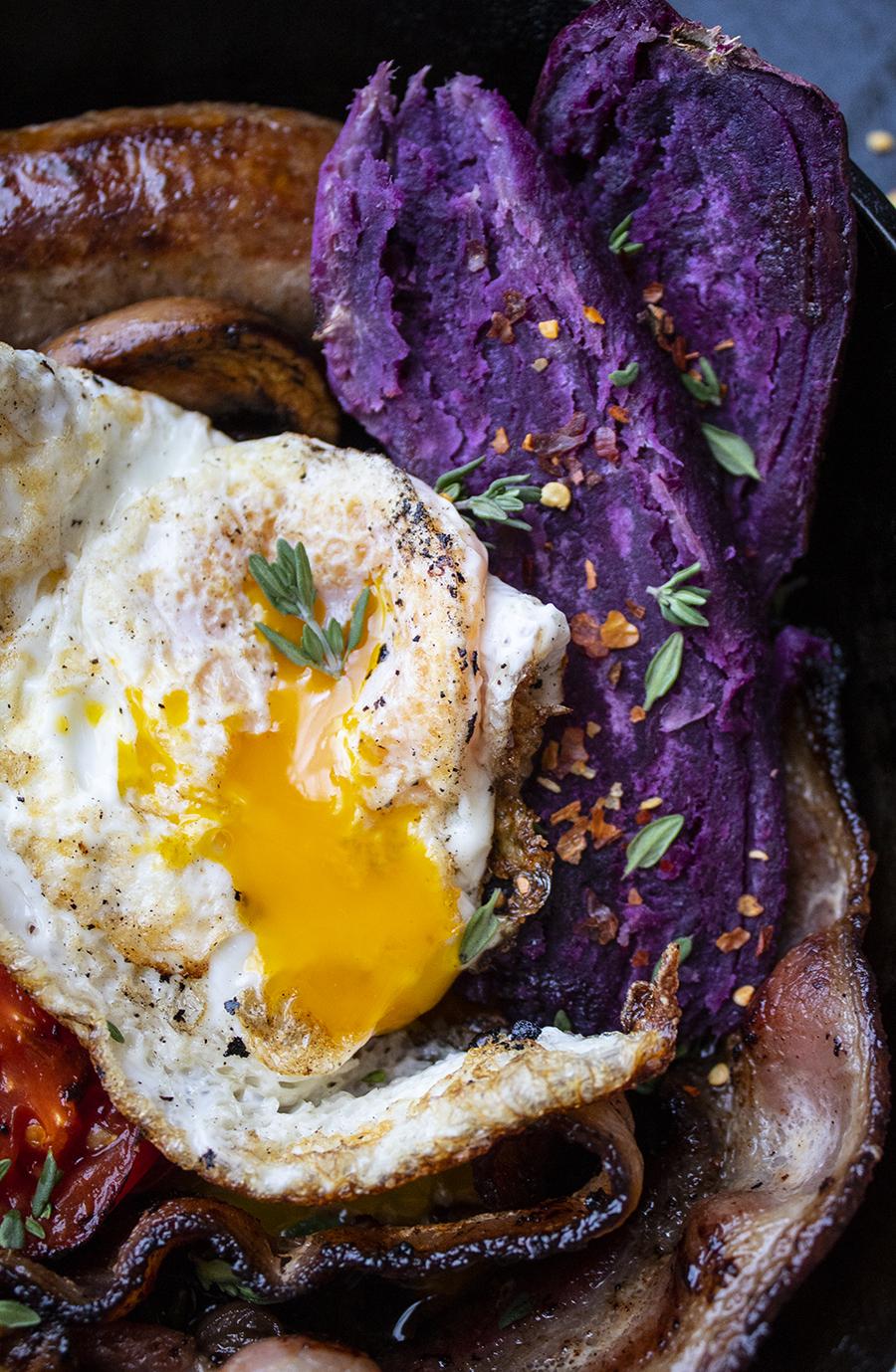 Paleo English Breakfast (with keto option!)