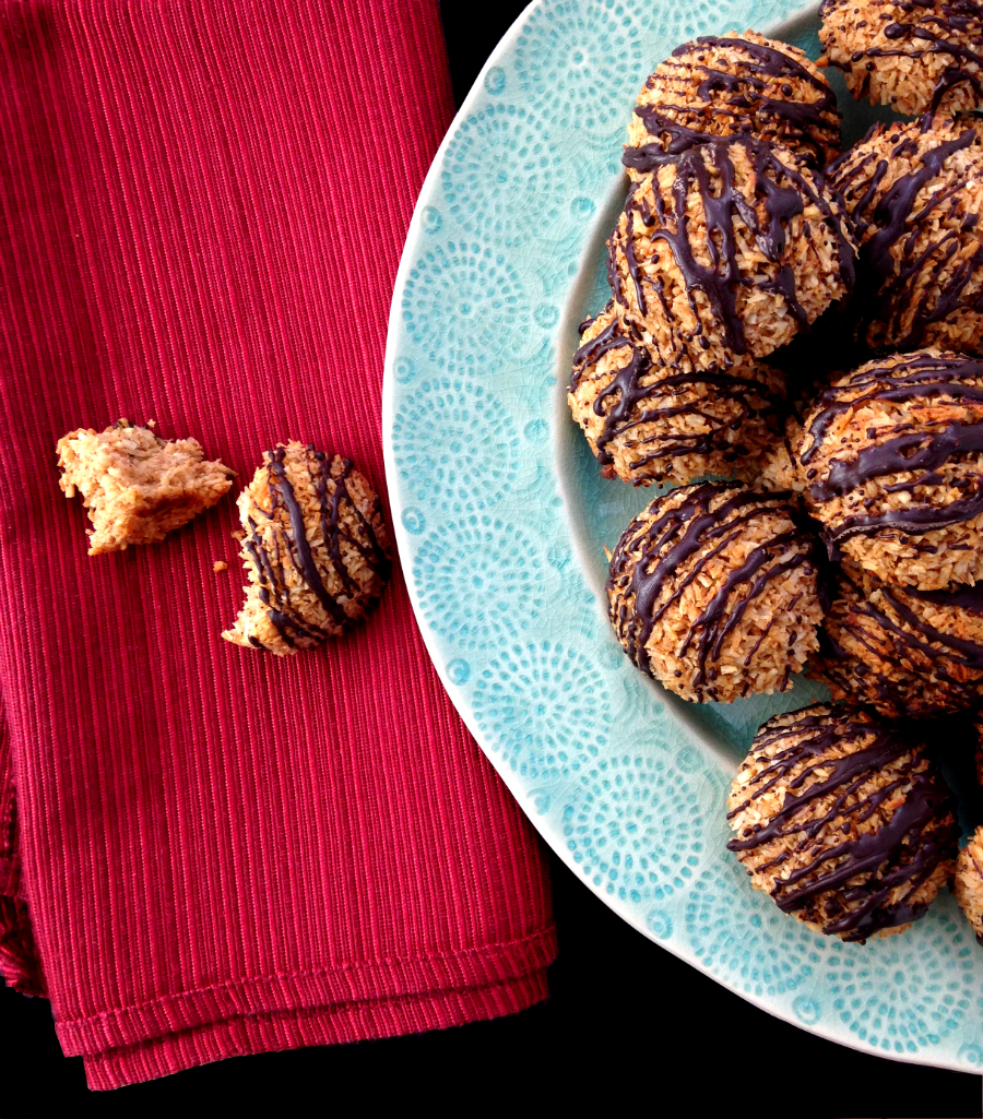 GrokGrub.com - Mexican Chocolate Macaroons (Nut/Grain/Dairy Free)