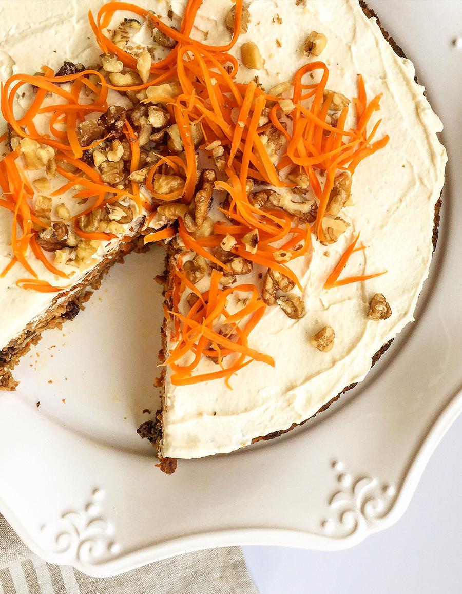 Paleo Carrot Cake (grain-free, dairy-free, fruit-sweetened)   Fresh Planet Flavor