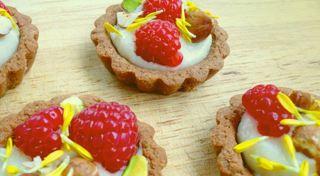 Taro Tartlets - GrokGrub