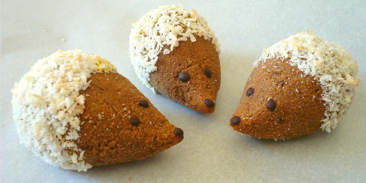 Hedgehog Cookies - GrokGrub