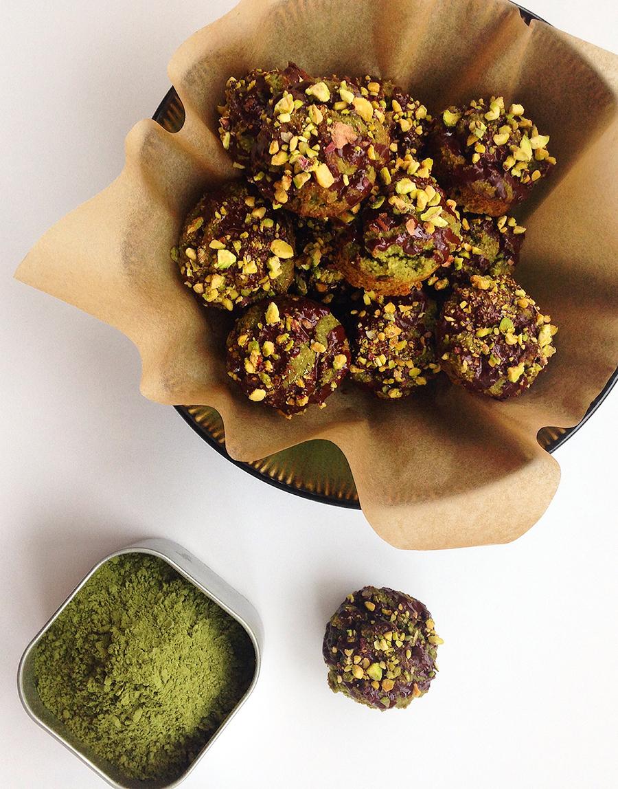 Mini Matcha Muffins (Grain/Dairy-Free, Paleo) | Fresh Planet Flavor