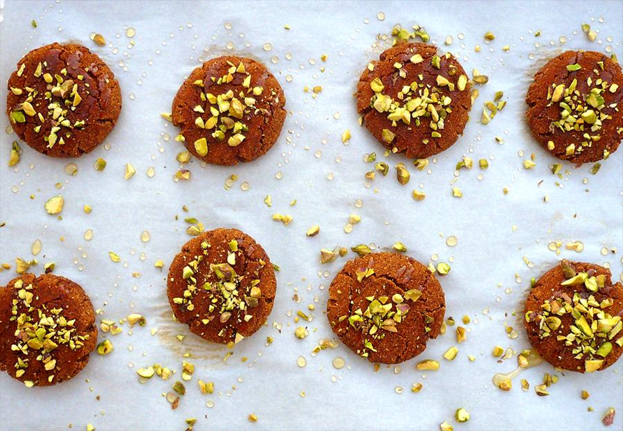 Pumpkin Spice Cookies - Fresh Planet Flavor