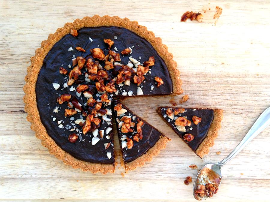 Montezuma's Spicy Chocolate Tart - Fresh Planet Flavor