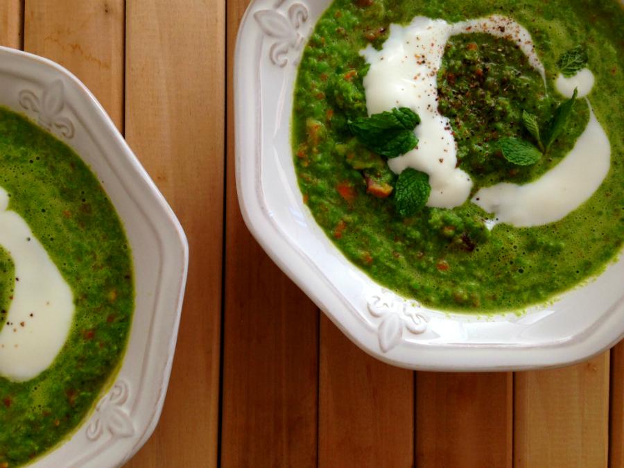 Green Pea Soup - Fresh Planet Flavor